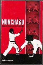 NUNCHAKU KARATE WEAPON OF SELF-DEFENSE, DEMURA, NEW 1971 MARTIAL ARTS BOOK  SALE