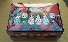 Box 24 scented Lip balm kimono doll wholesale job lot bulk buy gloss lipstick