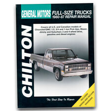 Chilton Repair Manual for 1980-1986 Chevrolet C10 - Shop Service Garage Book ls