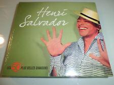 HENRI SALVADOR  LES 50 PLUS BELLES CHANSONS  DIGIPACK 3 CD NEUF