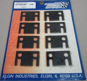 """FORD 302 WINDSOR FLAT GUIDE PLATE SUIT 3/8"""" PUSH RODS - GP302WF-3/8 (ELGIN)"""