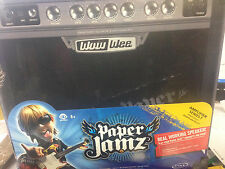 WowWee Paper Jamz Amplifier Guitar Amp Series 1 Rock Style Portable Speaker NEW
