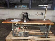Dürkopp 566-102 Industrie Nähmaschine Knopfnähmaschine Knopfannähmaschine #0223