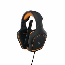Logitech G231 Prodigy Black Orange Gaming Headband Headsets
