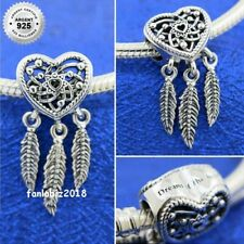FR Charm Pendentif  Argent s925 Dream Catcher ATTRAPE REVES