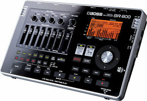 BOSS BR-800 8 TRACK DIGITAL USB RECORDING STUDIO 32GB SD CARD & POWER SUPPLY