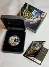 2010 Australia 50 Cents Bush Babies KOALA, 1/2 OZ. Silver Proof Coin IOB