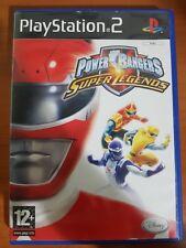 POWER RANGERS: SUPER LEGENDS - PLAYSTATION 2 PS2 USATO