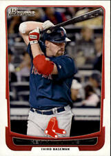 2012 Bowman Baseball #187 Kevin Youkilis Boston Red Sox