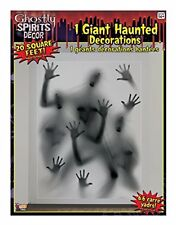 Ghostly Wall Stickers & Murals Indoor/Outdoor Spirits Decoration, 5', Gray