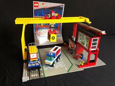 Lego 4555  City Trains 9V  Cargo Station System Eisenbahn Verladestation