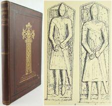 1875*ARCHAEOLOGICAL SKETCHES*KNAPDALE*GIGHA*ARGYLL ARCHAEOLOGY*CELTIC ART*CROSS