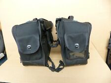 Oxford Sovereign textile Panniers Touring Luggage (Pair) Motorcycle saddle bag.