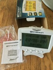 Emerson Large Display Talking Caller Id Box~60 Numbers Memory~Em60~Jumbo~Lighted