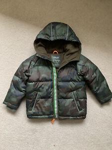 Camo ripstop puffer coat - J CREW - Age 3