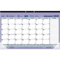 Brownline Monthly Compact Desk Pad/Wall Calendar (c181700)