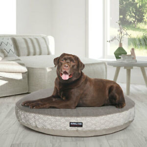 Kirkland Signature 42inch 106.7cm Round Pet Bed 17 Designs FAST & FREE DELIVERY
