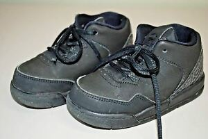 Nike Air Jordan Flight Origin 2 Sneakers TODDLER BOYS SIZE 7C SHOES - Black/Gray