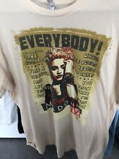 Madonna Everybody Promo T-Shirt XL Celebration