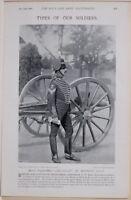 1896 Guerre des Boers Era Batterie Sergent Majeur Christopher Carnaghan Prof
