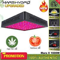 Upgraded Mars II 1600W Led Grow Light Full Spectrum Indoor Hydro Plant Veg Bloom