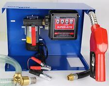 24 Volt  Hof Baustellen Tankstelle Dieselpumpe Heizöl Pumpe Blue Edition