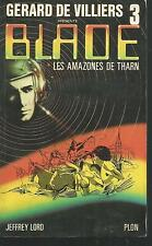 Blade n° 3.Les Amazones de Tharn.Jeffrey LORD.Science Fiction SF18