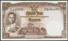 Thailand 10 Baht (1953) Pick 76d