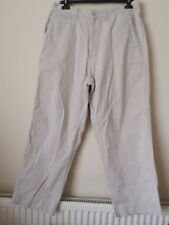 Mens Nautica Jeans Pale Beige 100% Cotton Chinos Chino Trousers W34 / 34 inches