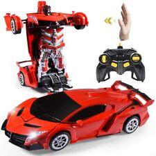 Janboo 1:14 RC Cars Robot for Kids, Transformrobot Racing Toys, Gesture Sensing
