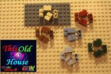 Lego 4216 Brick 1x2 modified w/ CENTER GROOVE CHOICE OF COLOR New or pre-owned