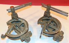"""Lot of 2 Holsclaw Bros Handy Tubing Benders, 1/2"""" Od & 5/8"""" Od, Copper, Pipe"""