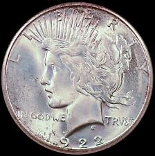 1922-S $1 Peace Silver Dollar NGC MS65 - Choice Quality