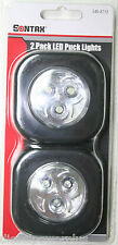 puck light led 2 pack ultra bright tool box compact home kitchen shop garage car