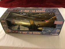 The Ultimate Soldier XD F-86F-30 Sabre aircraft plane military Korea 1:18 large