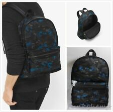 ab1bddc4ee3f New Authentic Michael Kors Kent Camouflage Nylon Backpack Ocean