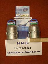 40mm Shaft Anode MG DUFF Yacht/Narrow/CruiserBarge/Coble/Trawler/Ship/Fishing
