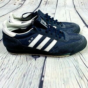Adidas Originals SL72 Sneakers 2009 size 13 Mens Navy Blue Lace Up Suede 929903