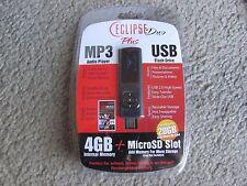 New Eclipse Duo Plus 4GB USB 2.0 Flash Drive MP3 Audio Player (Eclipse Duo 4GB)