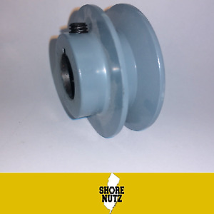 """2"""" X 5/8"""" Single Groove Fixed Bore Cast Iron """"A"""" Pulley AK20 X 5/8 200a6"""