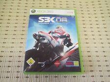 SBK 08 Superbike World CHAMPIOSHIP per XBOX 360 xbox360 * OVP *