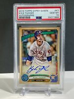 PSA 10 2019 Topps Gypsy Queen Kyle Tucker Houston Rookie RC Signed Auto GEM MINT