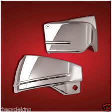 Yamaha 650 V-Star Custom Classic Silverado - Chrome Side Covers left/right/pair