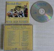RARE CD ALBUM HERZHAFT BLUES NEVER BEEN PLUGGED 18 TITRES 1993 COUNTRY