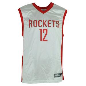 NBA Houston Rockets Dwight Howard 12 Jersey Shirt White Red Men Adult HWC XLarge