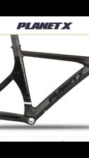 New Planet X Pro Carbon Racing Matt Black Frame Only - Xtra Small