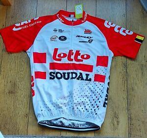 Replica 2019 Lotto Soudal Cycling suit top and bib shorts - XXXL - BNWT