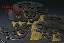 Japan Antique Edo Moon maetate Kabuto yoroi koshirae Armor tsuba Busho samurai