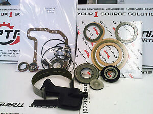 CD4E TRANSMISSION REBUILD KIT 98-02 WITH RAYBESTOS CLUTCH PACK FORD