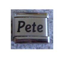 Italian Charms  Charm Names Name  Pete